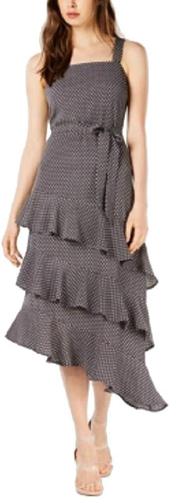 bar Super sale period limited III Womens Ruffled A-Line Dress Midi Super intense SALE