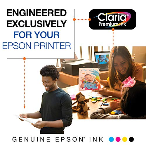 Epson T273020 Epson Claria Premium 273 Standard-capacity Black Ink Cartridge (T273020) Ink Photo #6
