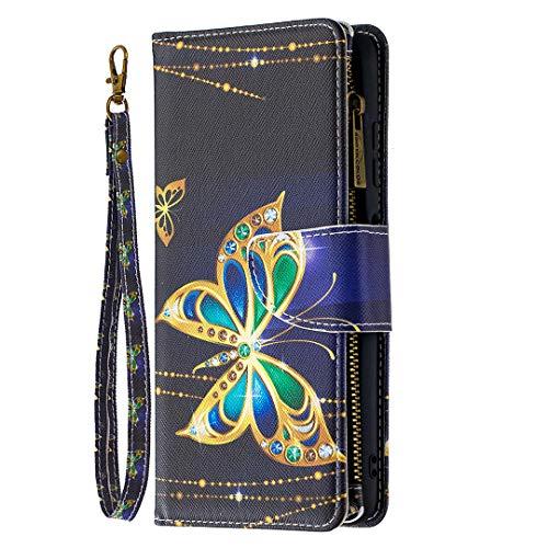Foco X3 NFC Bling Wallet Case con correa para mujer, Xifanzi 9...