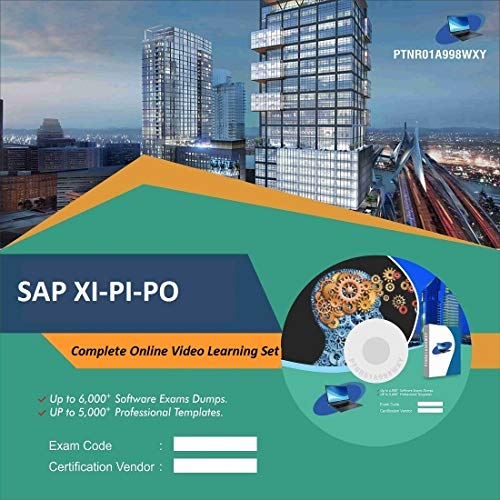 SAP XI-PI-PO Complete Video Learning Solution Set (DVD)