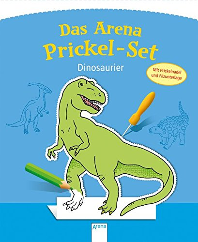 Das Arena Prickel-Set. Dinosaurier