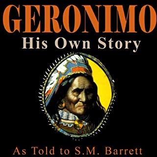 Geronimo audiobook cover art