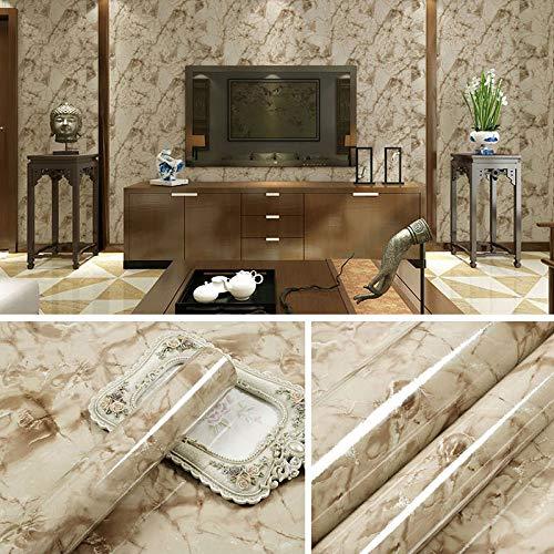 lsaiyy Imitation Marmor Muster Aufkleber wasserdicht Selbstklebende Tapete Küche Öl Tisch Esstisch Schranktür Renovierung Tapete tile-60CMX5M