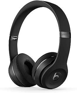Beats Solo3 Wireless On-Ear Headphones - Apple W1 Headphone Chip, Class 1 Bluetooth, 40 Hours Of Listening Time - Black (Latest Model)