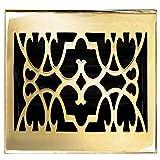 Brass Elegans 120D PLB Solid Cast Brass Victorian 4-Inch by 10-Inch...