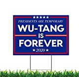 M&R Designs - 2 Sided Wu Tang is Forever 12 x 18-inch Yard Sign (Outdoor, Weatherproof Cor...