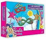 Barbie Premium 2 in 1 Eye MASK and Magic Wand Making KIT