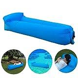 IceFox Air Lounger, Wasserdichtes Aufblasbares Luftsofa mit Tragebeutel, zum Schlafen im Freien