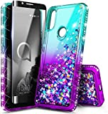E-Began Case for Alcatel 3V (2019) with Tempered Glass