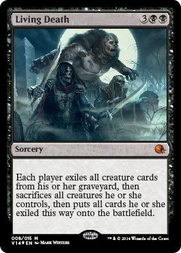 Magic The Gathering - Living Death (008/015) - from The Vault: Annihilation - Foil