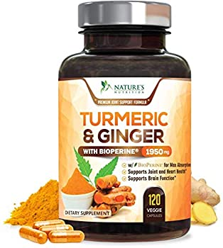 Best ginger and tumeric supplements Reviews