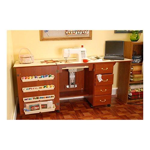 Arrow Cabinets Mueble para máquina de Coser- Norma Jean Cereza