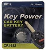 Key Power CR1632-KP - Pila de Litio para Llave de Coche (3 V)