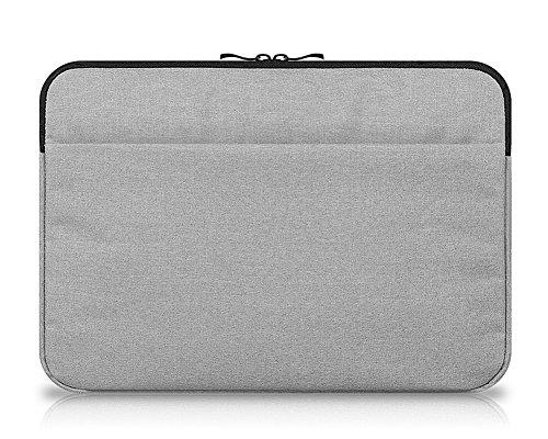 11.6 Zoll Hülle Sleeve Tasche für Tablet mit Tastatur für z.B. Lenovo Miix 510 Ideapad Yoga 300 Grau
