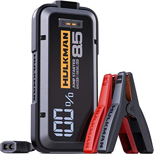 HULKMAN Alpha85 Jump Starter 2000 Amp 20000mAh Car Starter for up to 8 5L Gas and 6L Diesel product image