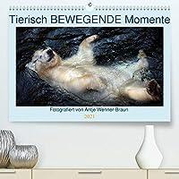 Tierisch BEWEGENDE Momente (Premium, hochwertiger DIN A2 Wandkalender 2021, Kunstdruck in Hochglanz): Emotionale Tierfotografie, die tief bewegt. (Geburtstagskalender, 14 Seiten )