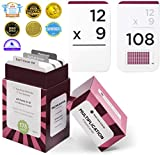 Think Tank Scholar 173 Multiplication Flash Cards   All Facts 0-12 Color Coded   Best for Kids in 3rd, 4th 5th & 6th Grade