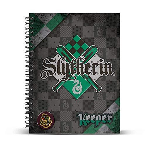 HARRY POTTER- Libretas y Cuadernos, Multicolor (Karactermania KM-38224)
