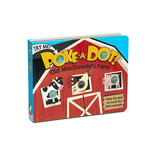 Melissa & Doug Children s Book - Poke-a-Dot: Old MacDonald's Farm (Board Book with Buttons to Pop)