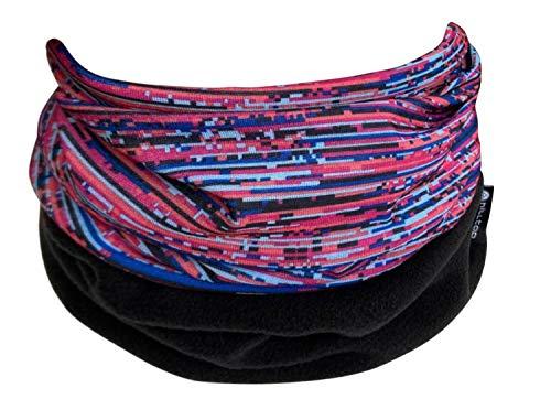 Hilltop Tour de cou multifonctions en polaire, foulard, cache-cou, disponible dans de nombreuses couleurs, couleur:Design 355-15