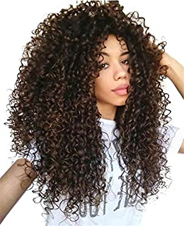 Hetto Clip in Natural Hair Extensions Color #4 Dark Brown Seamless Clip in Remy Hair Extensions Kinky Curly 14 Inch Brazilian Human Hair Extensions Clip in 100g 7pcs