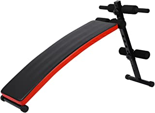Cocoarm Folding Sit Up Bench,Adjustable Workout Ab Abdominal Exercise Bench Abdominal Board