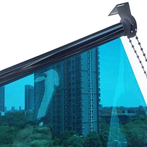 Persianas enrollables Estores Protección UV Cortina Enrollable por Ventana, Aislamiento Térmico Privacidad Espejo Unidireccional, Sombrilla, Cocina Sala Oficina Casa (Size : 105×250cm/41×98in)