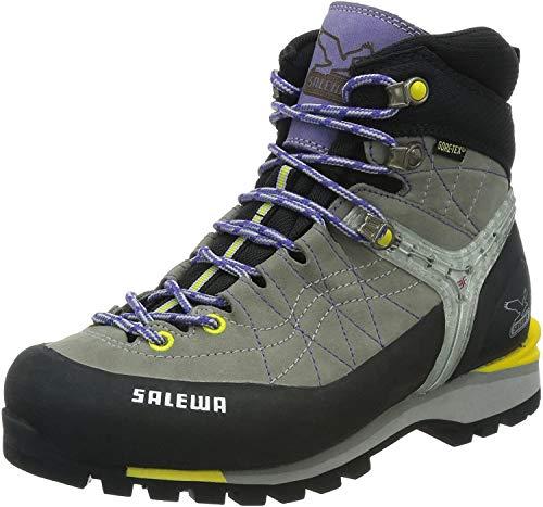 Salewa Damen WS Rapace GTX Trekking- & Wanderstiefel, Grau (0408_Grey/Yellow), 41 EU