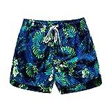 BUXIANGGAN Shorts Pantalones Cortos Mujer Mujer Home Casual Cintura Elástica Pantalones Cortos De Playa Estampados De Algodón Bombeo Pantalones Cortos para Exteriores De Autocultivo-BU_XXL