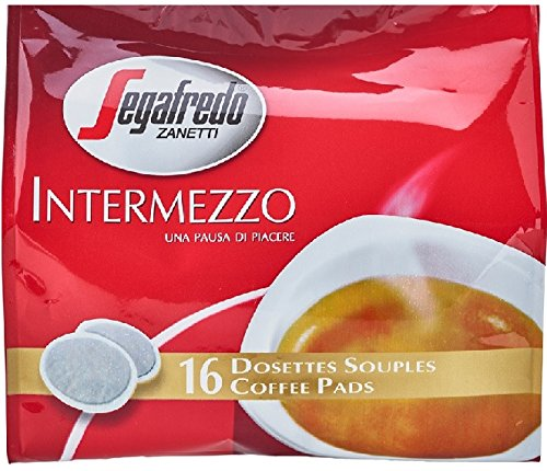 10 Beutel Segafredo Intermezzo Kaffeepads 16 St.