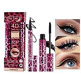 OKENTEN Mascara, 4D Leopard Silk Fiber Lash Mascara,...