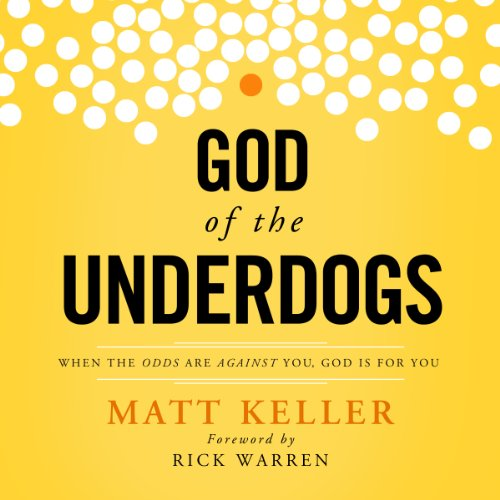 God of the Underdogs audiobook cover art