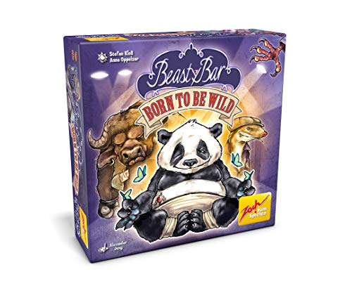 Zoch Beasty Bar Born to be Wild-Juego de Cartas, Multicolor (Simba 601105143)