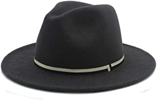 SHENTIANWEI Fashion Men Women Winter Fedora Hat Panama Church Fascinator Jazz Hat Casual Wild Hat Size 56-58CM