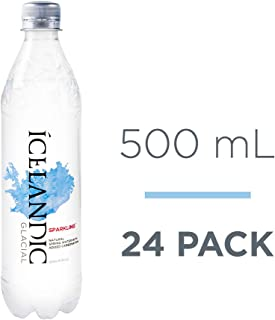Icelandic Glacial Sparkling Water, 500ml, 24Count