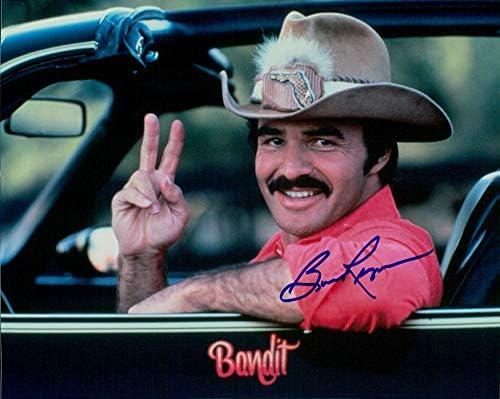 Portland Mall security BURT REYNOLDS Smokey The 8X10 Bandit photo signed
