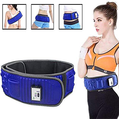 BCQ Elektrischer Schlankheitsgürtel, Fitnessgürtel, S-Form-Figur-Taillen-Training, Gewichtsverlust-Schüttelgürtel, Taillentrainer, Taillentrimmer
