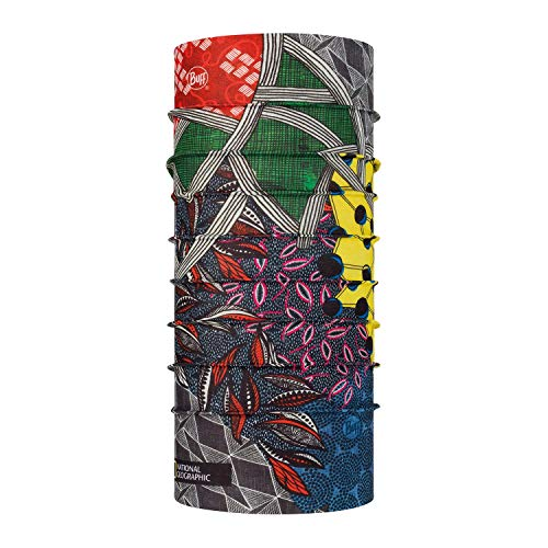 Buff Tour de Cou Coolnet UV+ National Geographic Mixte, Multicolore, Taille Unique