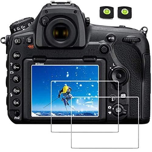 Glass Screen Protector Compatible Nikon D6 D780 D850 D5 D500 D7100 D7200 D750 D810 D800 D800E Camera,debous Anti-scratch Tempered Glass crystal-clear Hard Lcd Protective Film Shield Cover Guard (3pcs)
