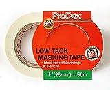 Prodec Low Tack Masking Tape 25mm x 50m by Pro Dec