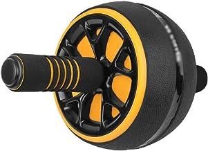 JIAYE Ab Roller, Geen Ruis Ab Wheel Eenvoudig te monteren Thuis Workout Apparatuur Draagbare Abs Workout Apparatuur voor T...