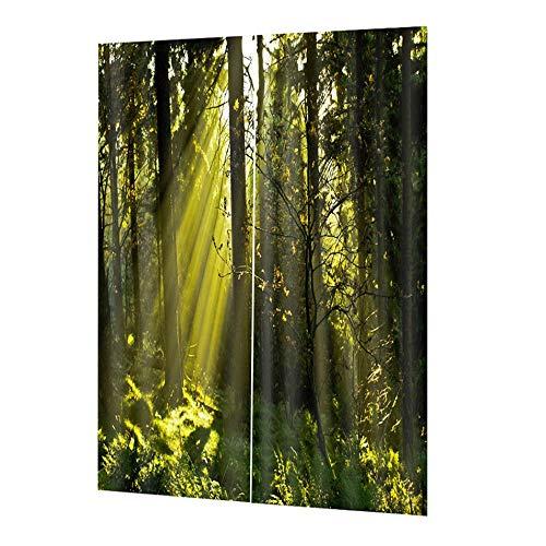 cortinas cocina ventana opacas