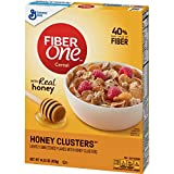 General Mills Fiber One Cereal, Honey Cluster's, 14.25 Oz
