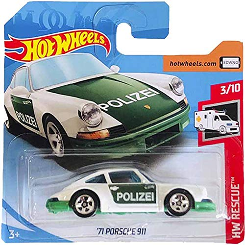 Hot Wheels \'71 Porsche 911 HW Rescue 122/250 Short Card