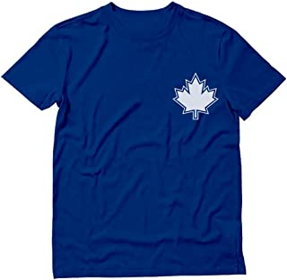 Canada Day Maple Leaf Pocket Print Canadian Patriotic T-Shirt