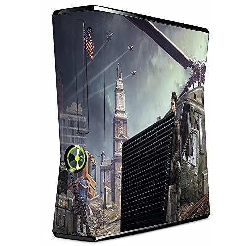 VINILOL Vinilo hecho para Xbox 360 Slim diseño Homefront pegatina cubierta skin para consola
