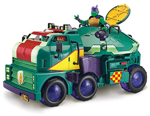 Teenage Mutant Ninja Turtles TUAB6000 Turtle Tank Spielset, Mehrfarbig, On