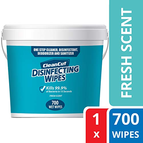 800 Count Roll for Gyms Monk Disinfecting Wipes Plastic Wall Mounted Center Pull Dispenser