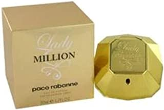 Women's Perfume Set Lady Million Paco Rabanne (3 pcs)