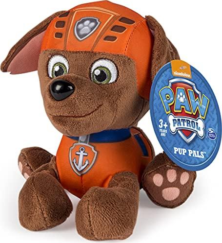 Nickelodeon, Paw Patrol - Plush Pup Pals- Zuma